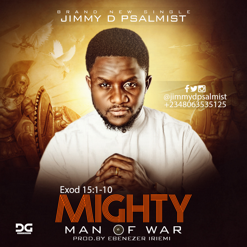CONSUMING FIRE  - JIMMY D PSALMIST LYRICS & MP3