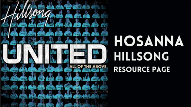 HOSANNA BY HILLSONG LYRICS & MP3 DOWNLOAD – Christian Music