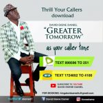 My Tomorrow Must Be Greater Than Today By David Ekene MP3 Download