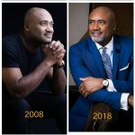 Paul Adefarasin and Ifeanyi's #10YearChallenge photos are flawless