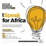 SPEAK FOR AFRICA 2019 CAMPAIGN ORGANIZED BY SALT TALKS AFRICA