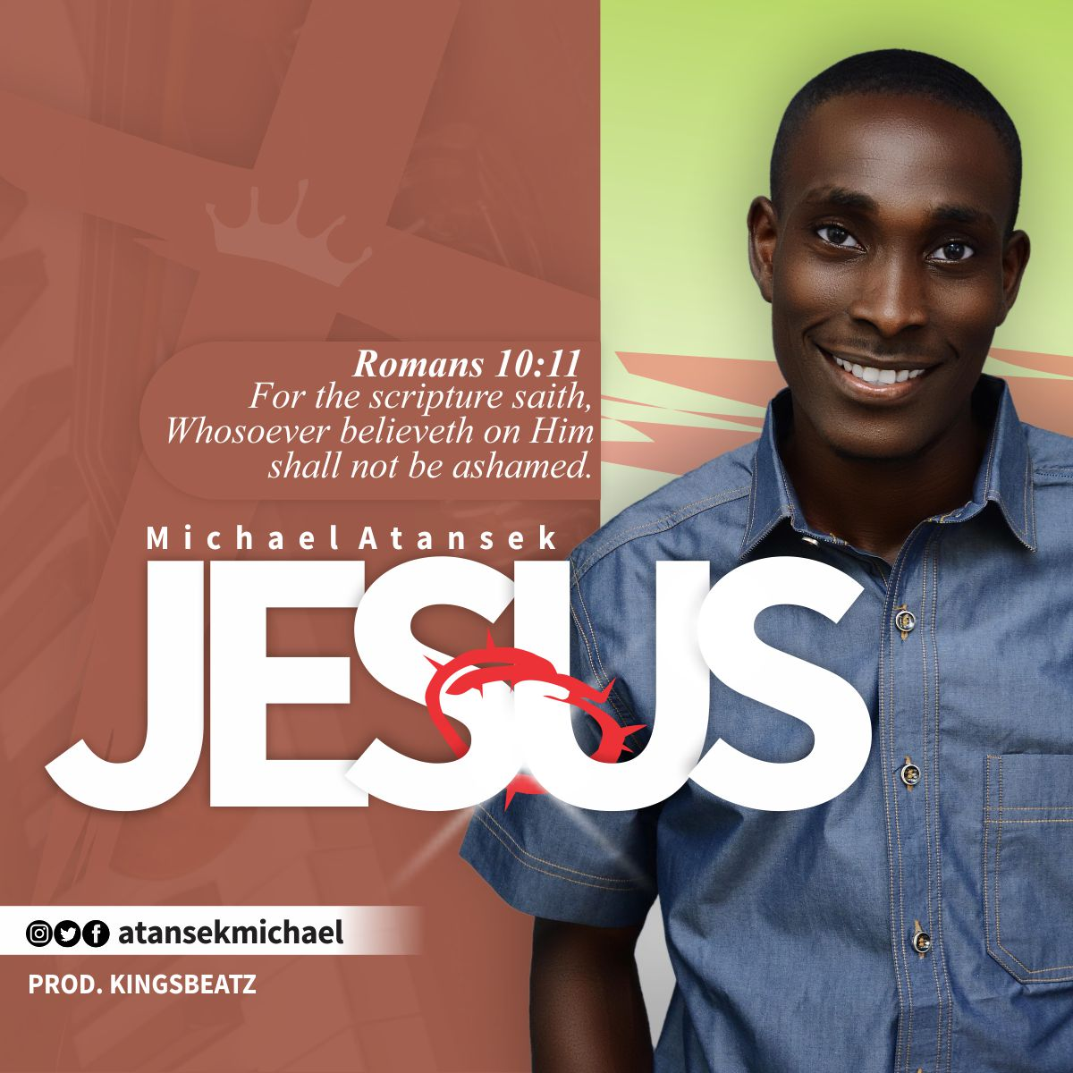 Jesus By Michael Atansek Lyrics And Mp3 Download Christian Music