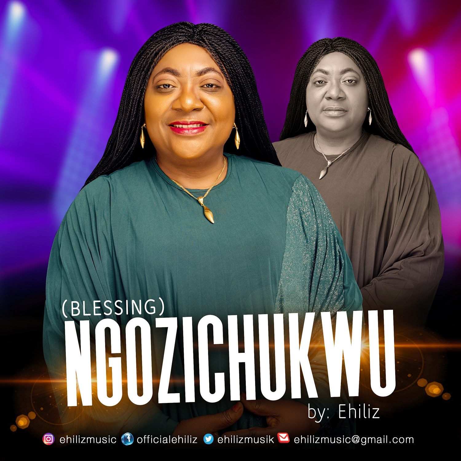 Ehiliz declares blessings upon blessings over the world in powerful new single titled NGOZICHUKWU.