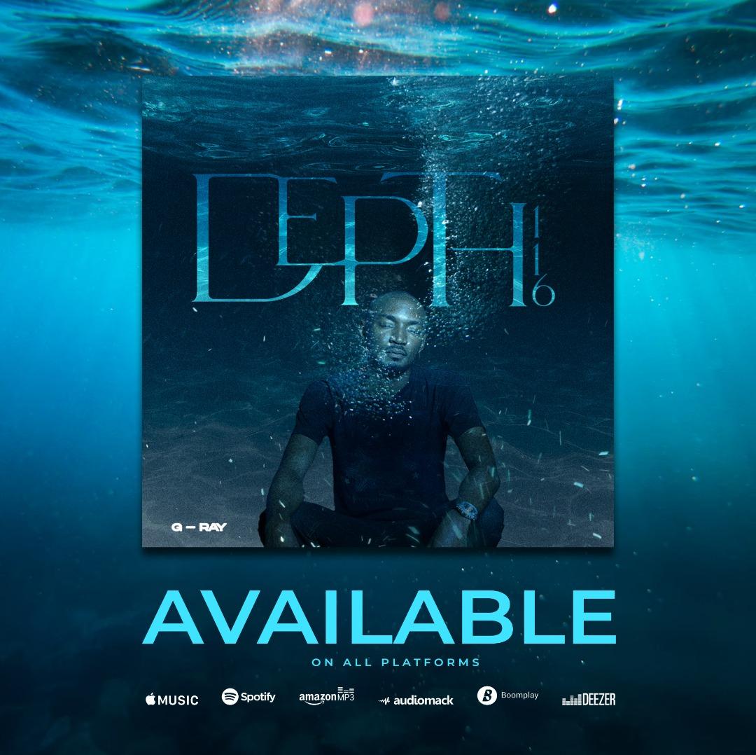 Christian Hip-hop Artiste, G-Ray, Releases New Album Titled DEPTH.